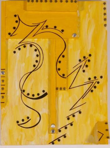 Mayan Graffiti 15 in. x 20 in. SOLD