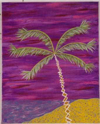 Sunset at Waikiki 16 in. x 20 in. SOLD