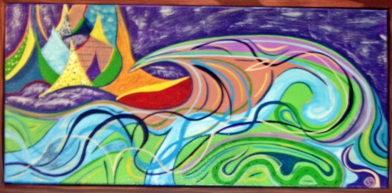Surfing the Rockies SOLD