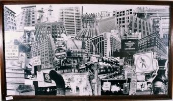Dense-City #1 4 ft. x 7 ft. SOLD