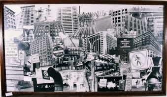 Dense-City #1 4 ft. x 7 ft. SOLD