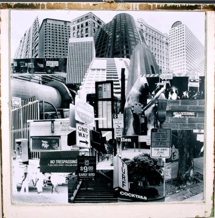 Dense-City #3 3 1/2 ft. x 3 1/2 ft. SOLD