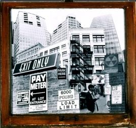 Dense-City #8 2 ft. x 2 ft. SOLD
