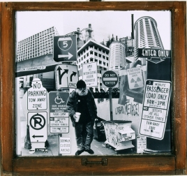 Dense-City #9 2 ft. x 2 ft. SOLD