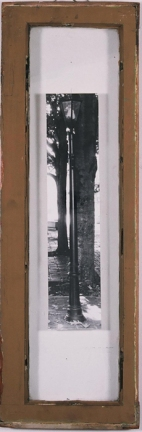 City Lamp Post 12 in x 36 in SOLD