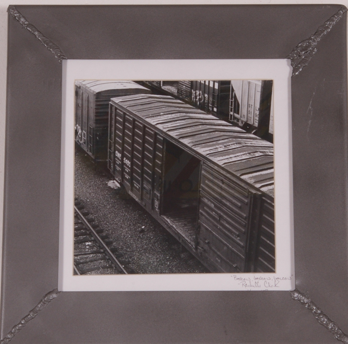 Boxcars, Boxcars, Boxcars 12 in. x 12 in.